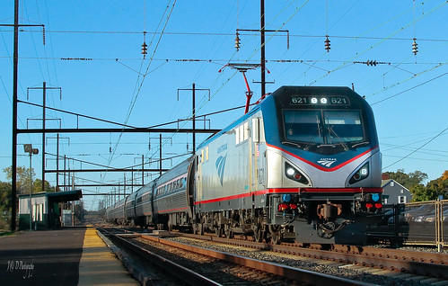 trains amtrak levittown northeastcorridor pennsylvaniarailroad pennsy tullytown northeastregional acs64citiessprinter