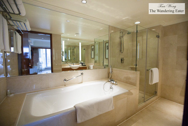 Our huge bathroom at the Grand Deluxe Room