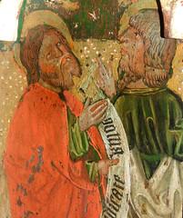 Mattishall screen: St Philip and St Bartholomew (15th Century)