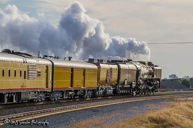 Union Pacific 844 | 4-8-4 Steam | UP Memphis Subdivision 2