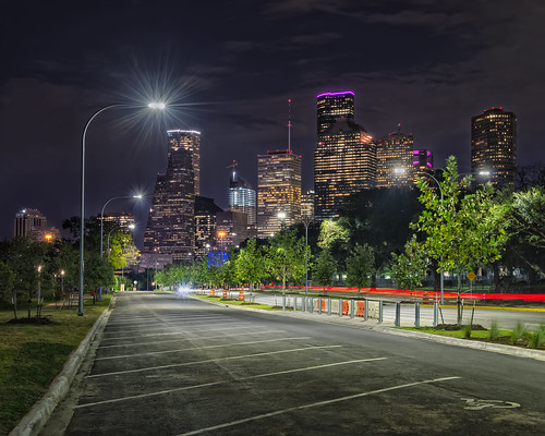houstontexas houston allenparkway buffalobayou memorialdrive janegregorygarden texas skyscapers nightscape lonestar highrises nikon d800e