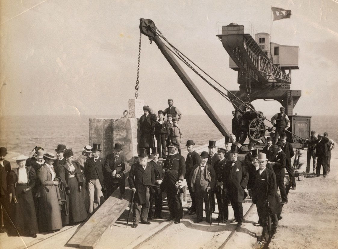 Visit of the Channel Fleet to Sunderland, 1895