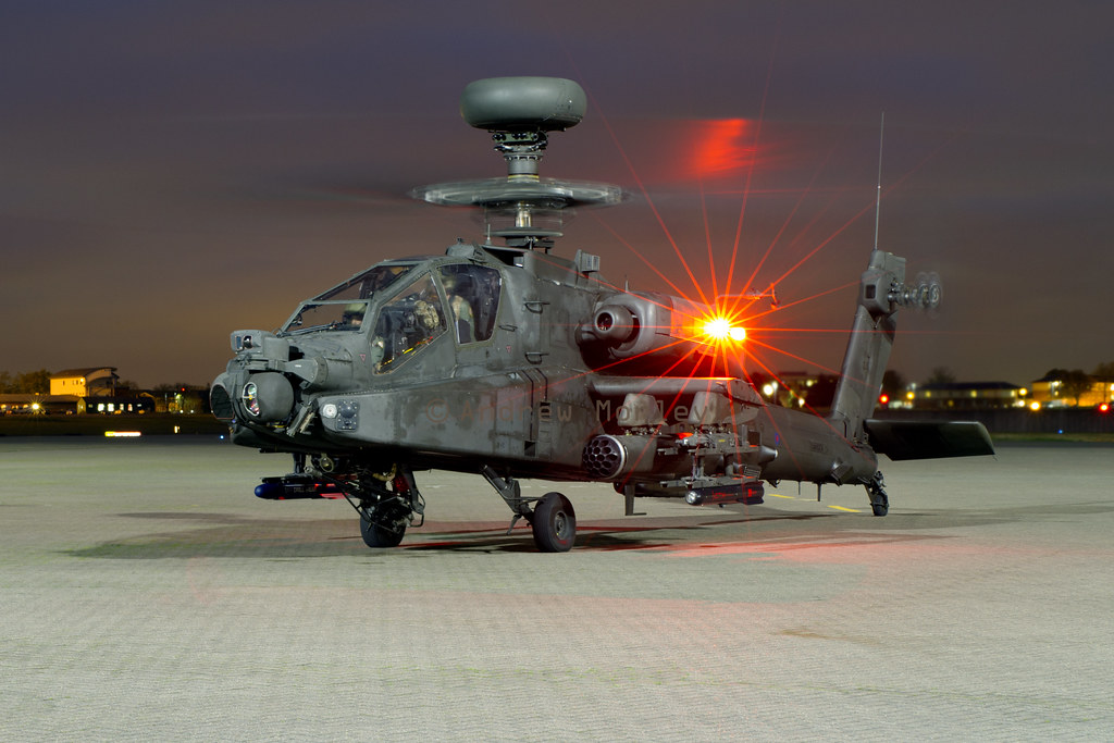 AAC Apache at Northolt Nightshoot XVII 23/10/14.