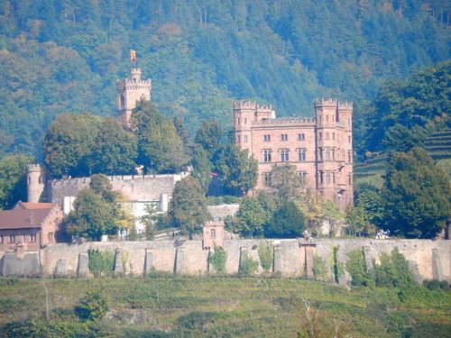 Chateau in Frankrijk onderweg naar Burtoncourt