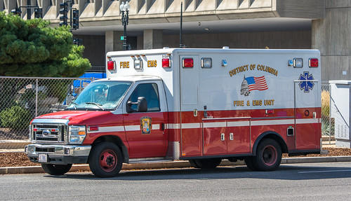 DC Fire and EMS ambulance - 2014-10-05 | by Tim Evanson