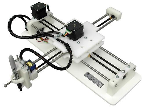 The AxiDraw® drawing machine