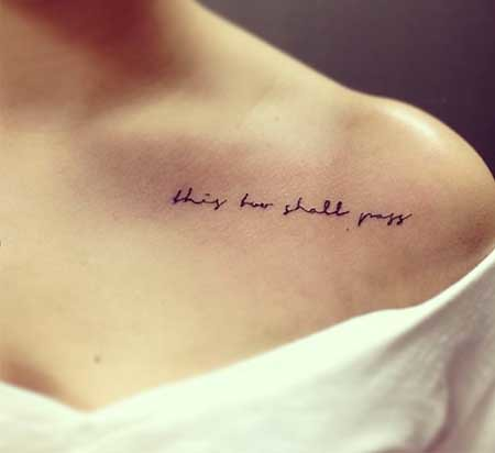 Cute Little Tattoos For Women Tumblr | Quote Tattoo Small Cu ...