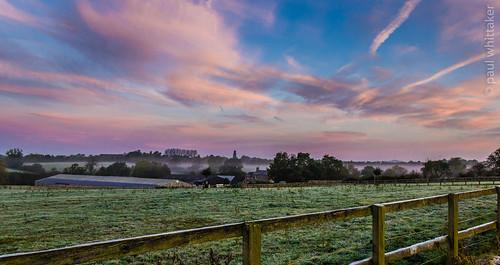 sky mist sunrise canon landscape 18135mm canoneos60d pwphotography paulwhittaker