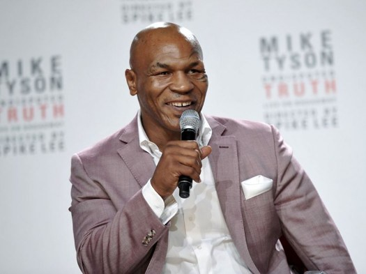 Mike Tyson Puts Toronto's CP24 News Anchor Nathan Downer I… | Flickr