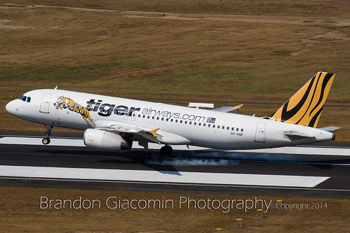 Tiger Airways Airbus A320 VH-VNP | by brandongiacomin