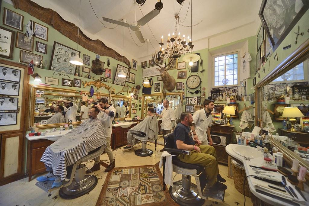 BISB: Ye Olde Barber Shop in Lucca | Barber shop, what else … | Flickr