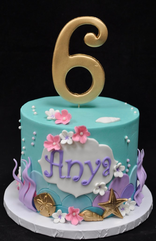 Phenomenal Under The Sea Birthday Cake Jenny Wenny Flickr Funny Birthday Cards Online Eattedamsfinfo