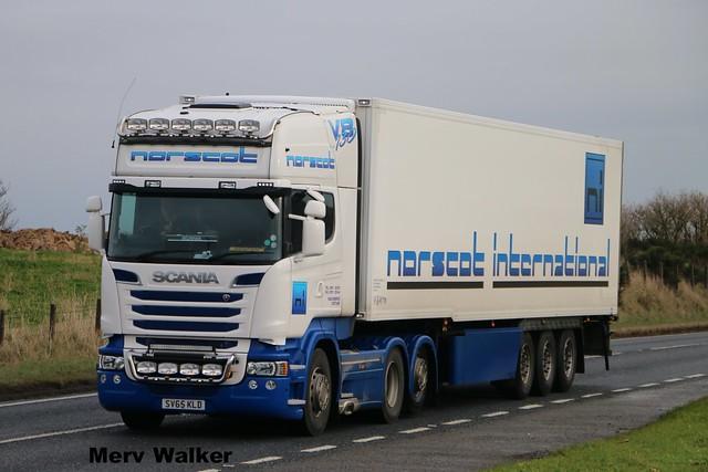 Norscot International Scania R730 Streamline Topline SV 65 KLD.