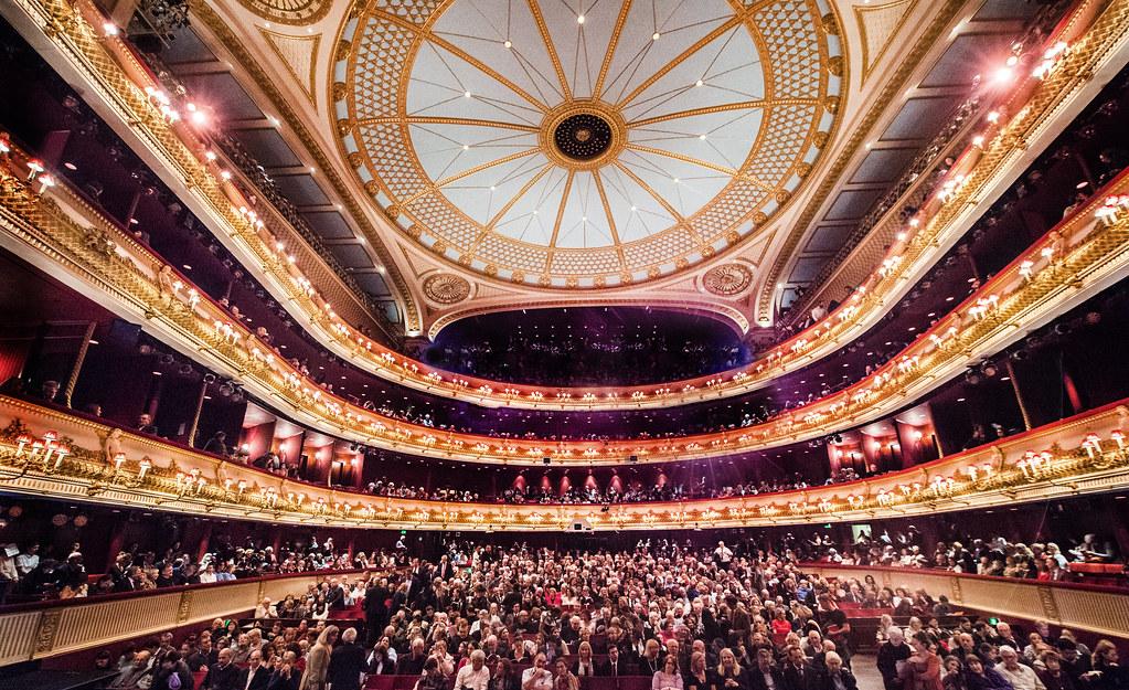 The Royal Opera House auditorium ? ROH. Photographer Sim Canetty-Clarke, 2016