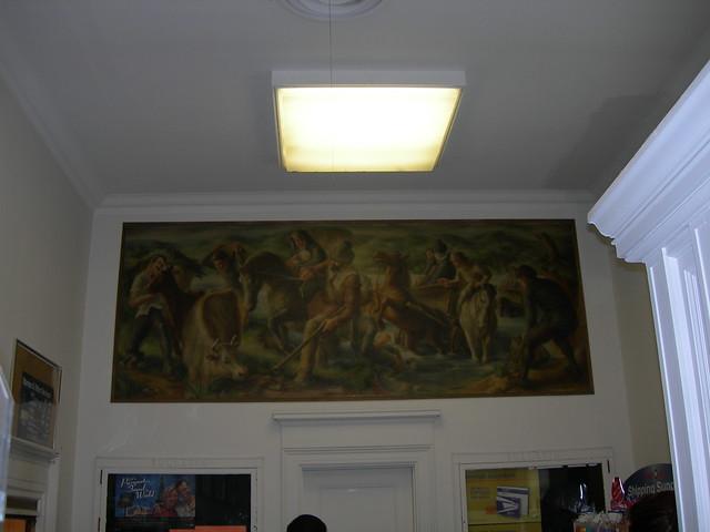 West Haven, Connecticut Post Office Mural