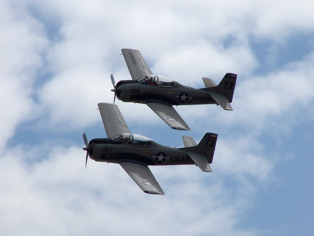 T-28-formation 1