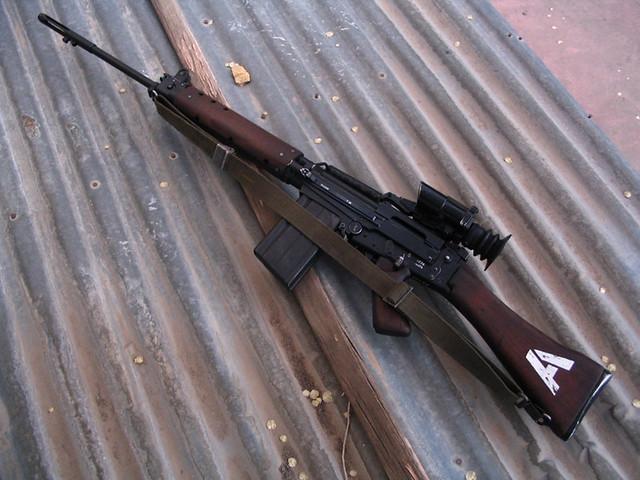 fn fal assault rifle | Tumblr