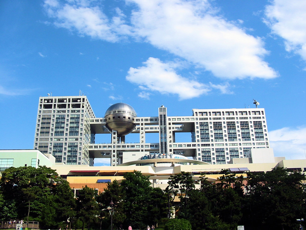 Odaiba - Fuji TV building