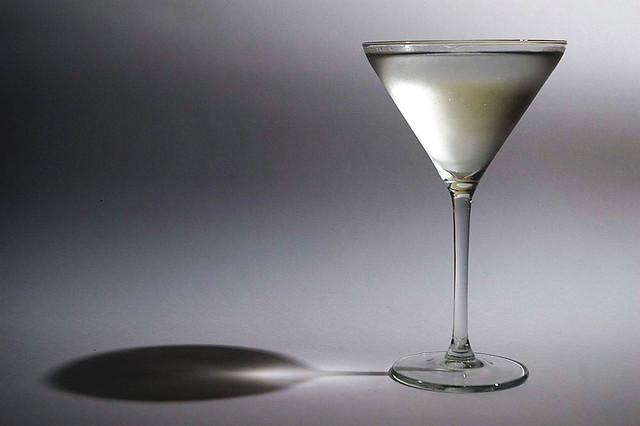 Vodka Martini, Shaken, Not Stirred