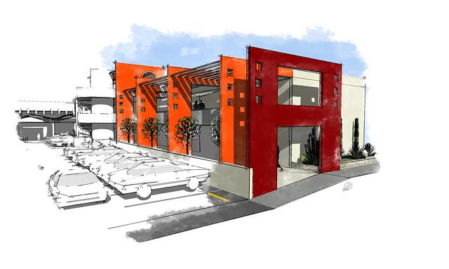 Noglaes Plaza, Render 4