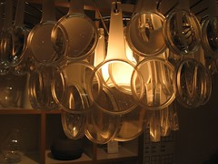 Magnifying glass chandelier   by mewroh
