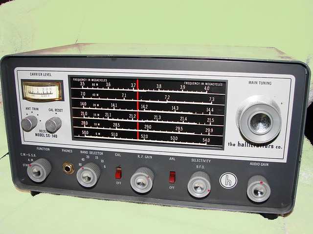 Hallicrafters SX-140 Ham Band Receiver