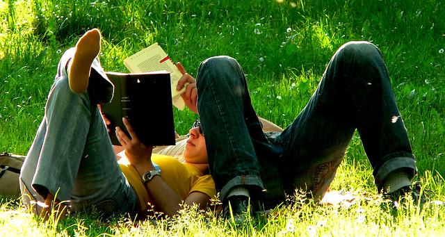 leggere al parco lambro