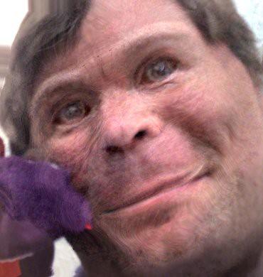 moneky scary ape me | made via www dcs st-and ac uk/~morph/T