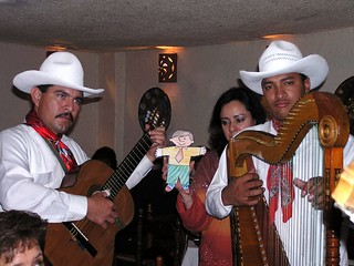 Singing with the Jarocho band!