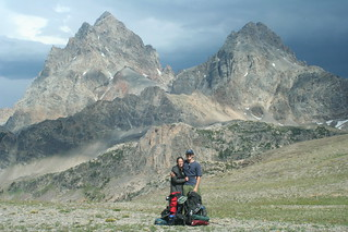 Jessica and Scott at the Tetons | by schacon