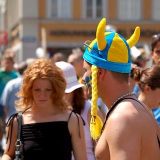 Swedish Invasion in Munich FIFA2006   by 4mediafactory
