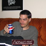 Pepsi - the choice of a bored asshole on his couch