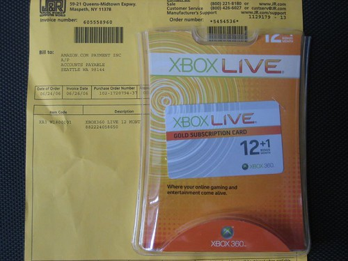 Free Xbox Live from