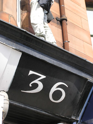 Window cleaner on top of No. 36 | by Torchlight Beacon