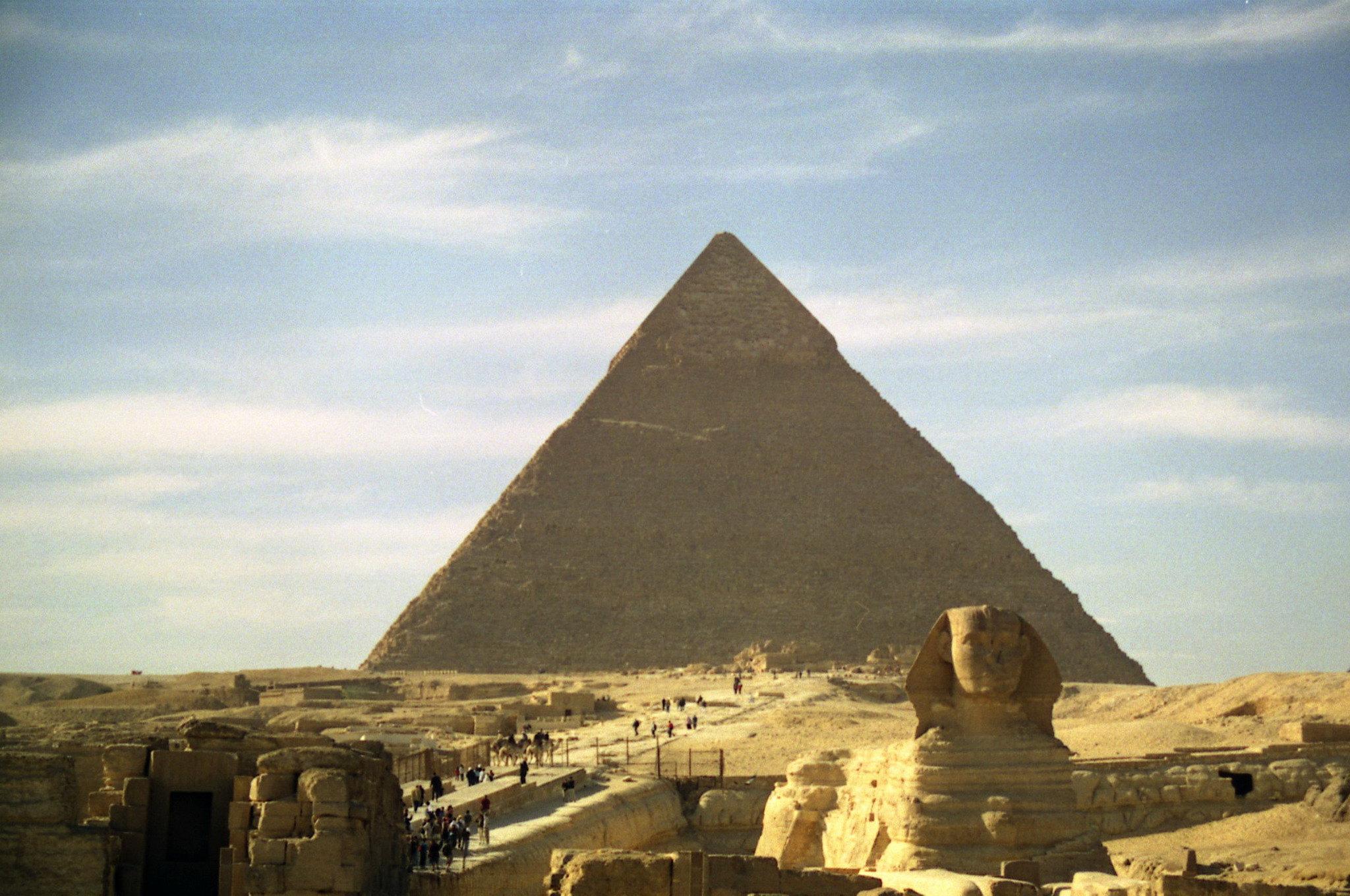 Pirámides de Giza Keops, Kefren y Micerino El Cairo Egipto