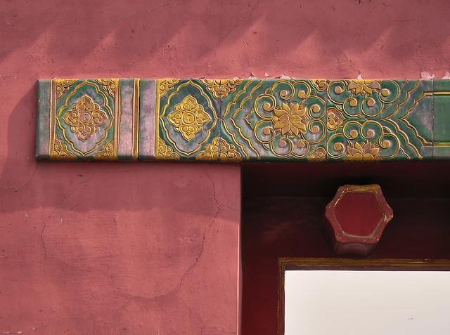 Tiled lintel