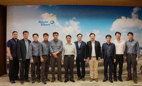 圖05.本會代表團拜訪韓國現代石油工會