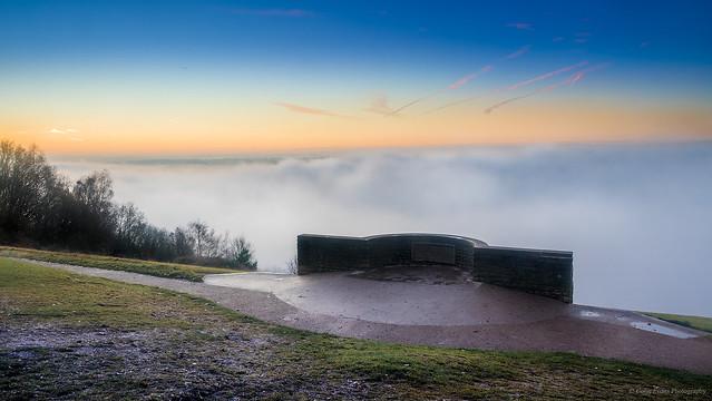 Dawn on Box Hill