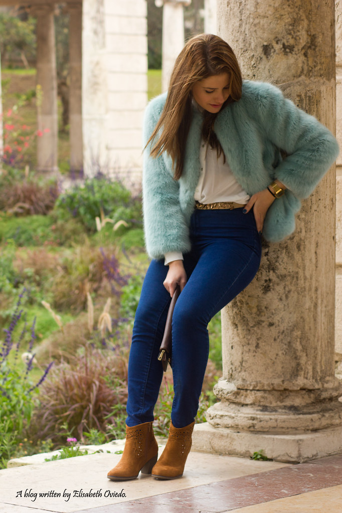 Invernal Abrigo Outfit1Flickr Zara Barcelona Pelo Look RAL534jq