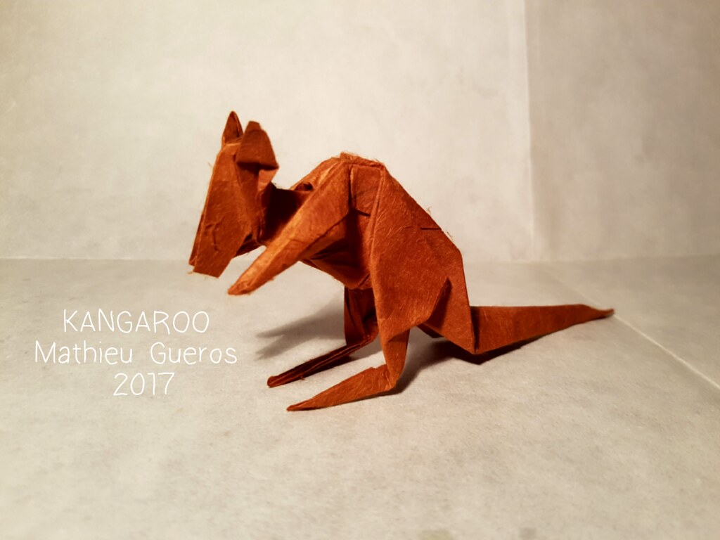 Origami Kangaroo | Gina Julian | 768x1024
