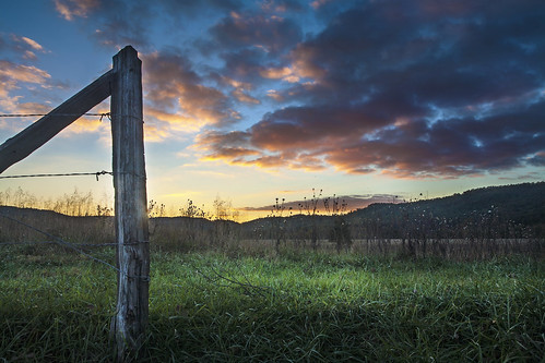 park autumn sunset mountains fall fence october post great national lane hyatt smoky cadescove gsmnp