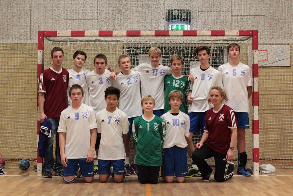 Kfum København Finalister U14d Kfum København Håndbold Flickr