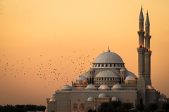 Mosque at Sharjah Corniche