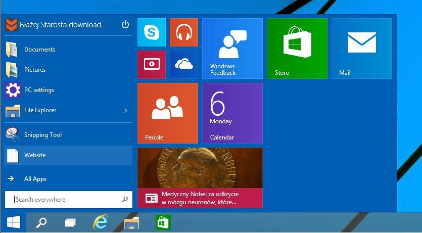 Start menu 10 download