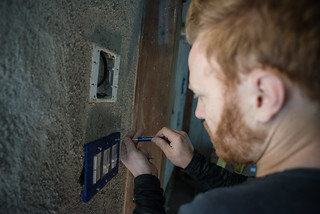 Tyler Affixing Switchplate | by goingslowly