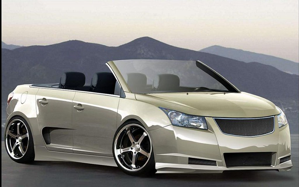 2015 Modification White Chevrolet Cruze Convertible | Flickr