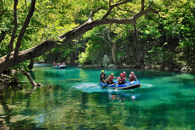 Rafting at Voidomatis river