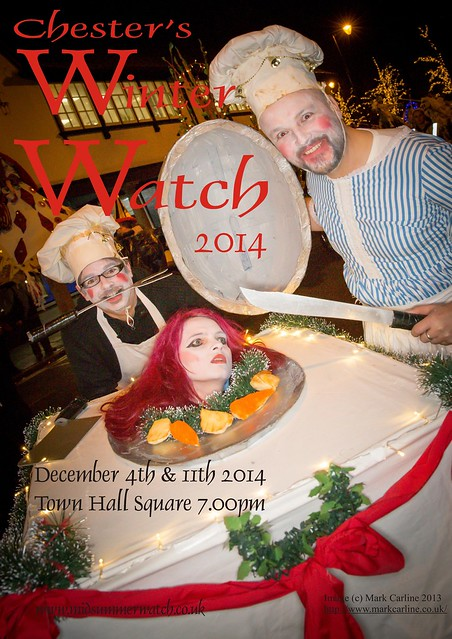 Chester's Winter Watch 2014 Promo Flyer