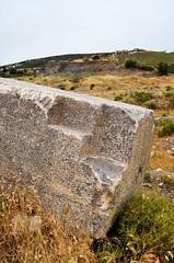 Roman quarry at Karagöl (Teos), Turkey (3)