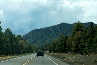 West on 66 near Flagstaff, Arizona | by RoadTripMemories
